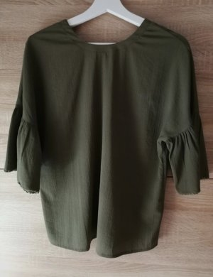 Aniston Blouse green grey-olive green polyester