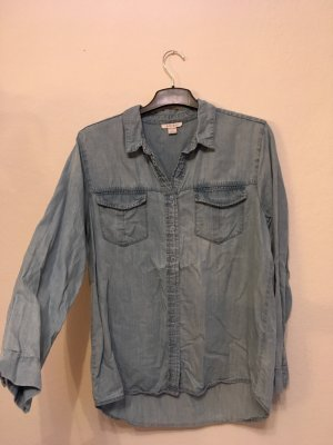 Bluse 100% Lyocell Jeanslook