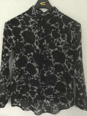 Broadway Camicetta a maniche lunghe nero-grigio chiaro