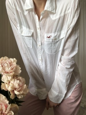 Hollister Blouse en crash blanc
