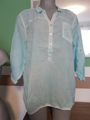 Blouse white-light blue