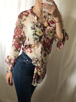 Vero Moda Blusa transparente multicolor