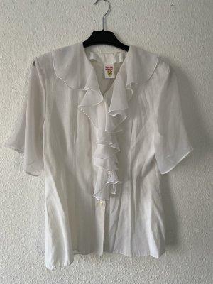 Canda Short Sleeved Blouse white