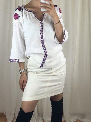 Alba Moda Blusa a tunica multicolore