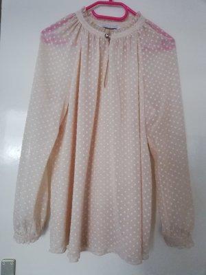 Diane von Furstenberg Blouse à manches longues rose chair polyester