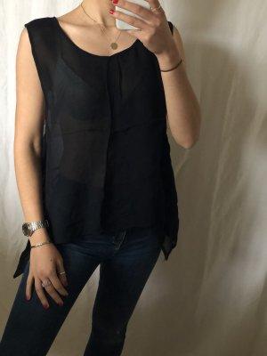 Carmen blouse zwart