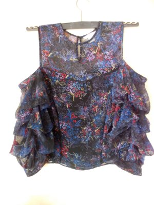 Ruffled Blouse multicolored polyester