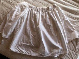 Pull & Bear Short Sleeved Blouse white