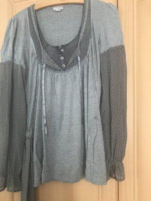 Heine Blusa de manga larga gris-gris claro