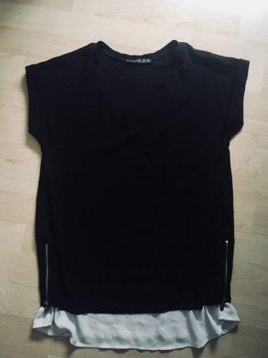 Atmosphere Oversized Blouse white-black