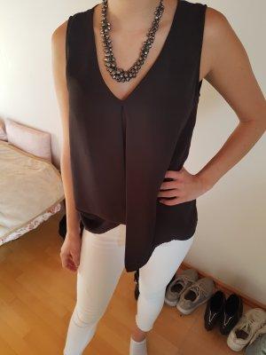 H&M Blusa gris antracita-taupe