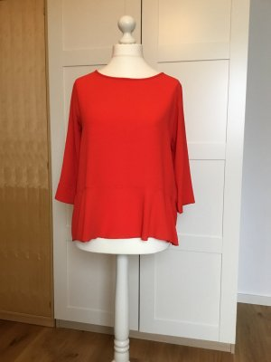 SusyMix Ruffled Blouse red