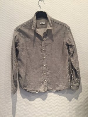 Closed Blouse en lin gris clair