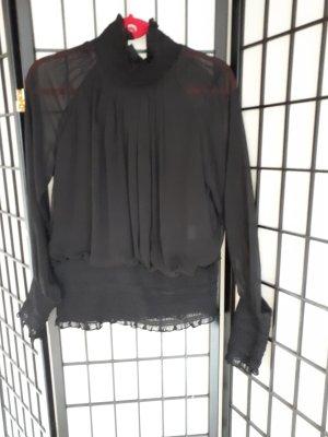 0039 Italy Camicetta a blusa nero