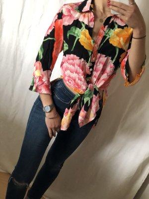 Antonette - Franz Haushofer Blusa-camisa multicolor Seda