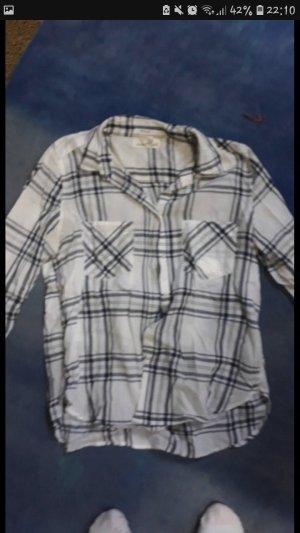 H&M L.O.G.G. Colletto camicia bianco-nero