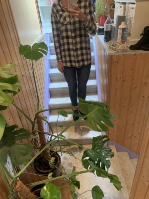 Primark Camicia da boscaiolo nero-bianco