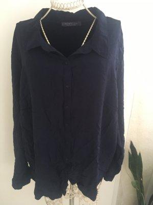 Mango Camicetta a blusa blu scuro