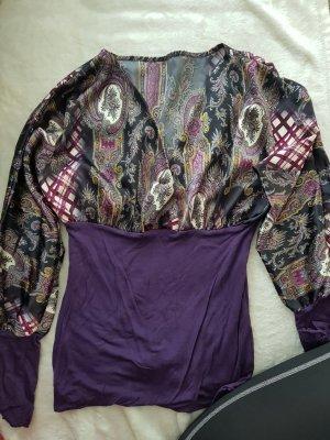 & other stories Blouse Top black-dark violet