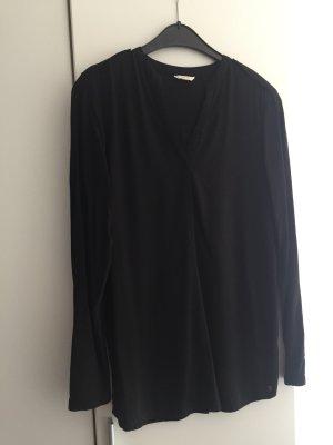 Esprit Blusa larga negro Poliéster