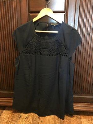 Bonita Oversized blouse donkerblauw