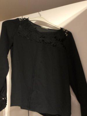 Orsay Blouse en soie noir