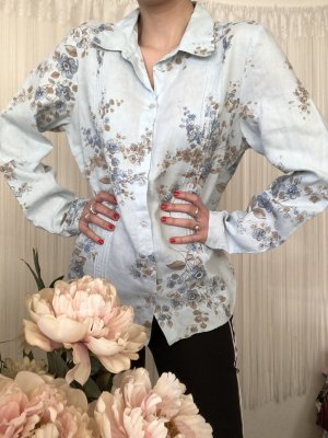 Jackpot Crash Blouse multicolored linen