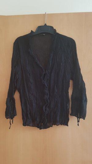 Blouse zwart Polyester