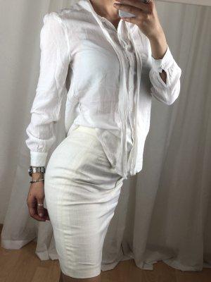 Cooperative Inserción de blusa blanco