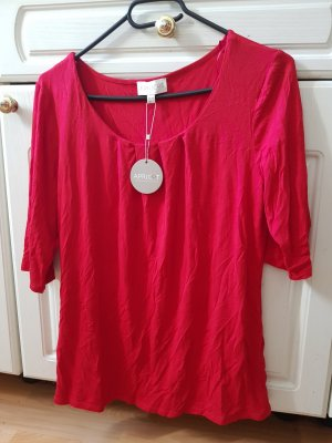 Apricot Blouse red