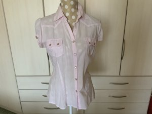 Authentic Short Sleeved Blouse light pink