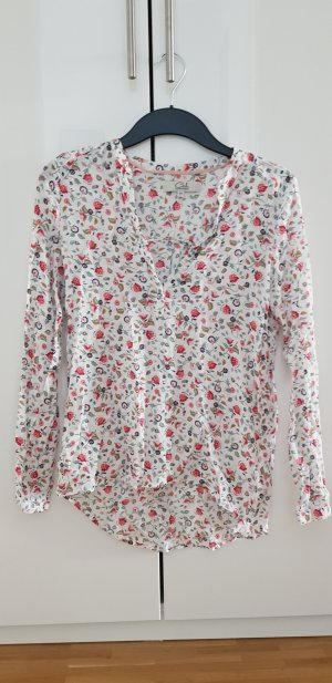 Clockhouse Blouse white-red