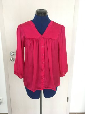 H&M Blouse brillante magenta