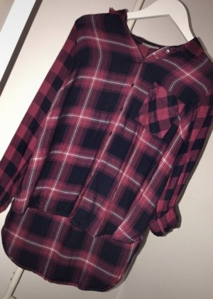 Yessica Geruite blouse veelkleurig