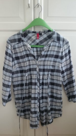 H&M Checked Blouse blue
