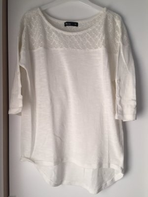 Flame Blouse en crash blanc cassé