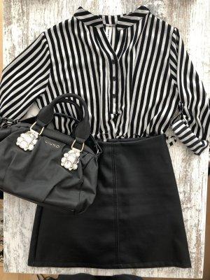 Camicetta lunga nero-bianco