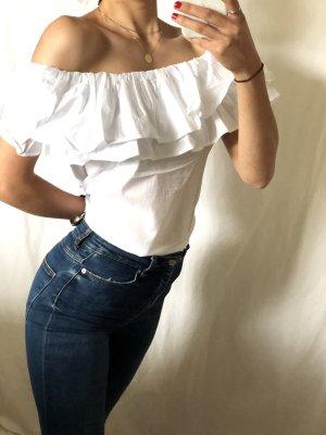 Camicetta lunga bianco