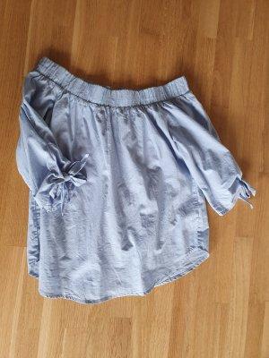 Bodyflirt Carmen blouse azuur
