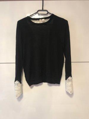 H&M Empiècement de blouses noir