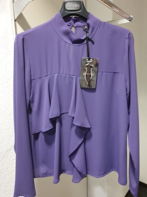 Ancora Blouse à manches longues bleu violet