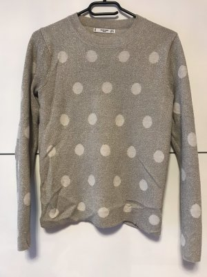 Mango Empiècement de blouses gris clair