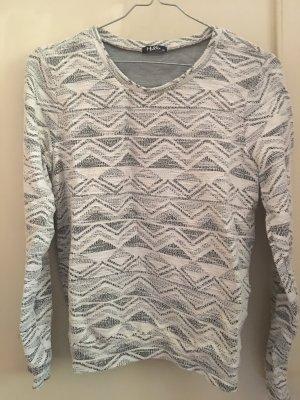 Fleece Jumper light grey-white