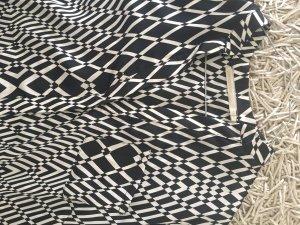 Passport Lange blouse wit-zwart