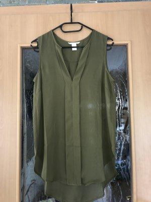 H&M Lange blouse oker