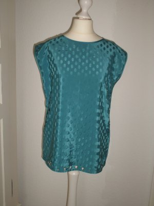 Bluse ärmellos Esprit Gr. 36 smaragd