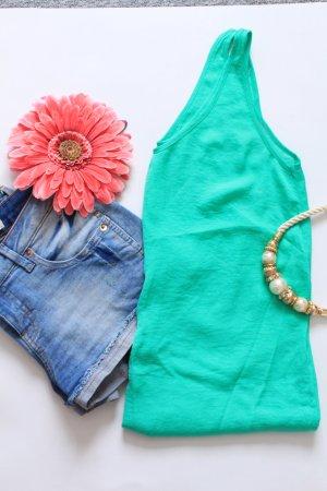 Bluse ärmellos grün Gr. 34 H&M