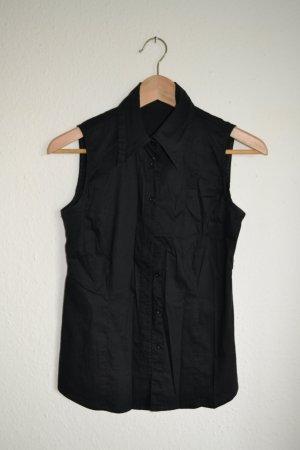 Bluse ärmellos schwarz Vero Moda