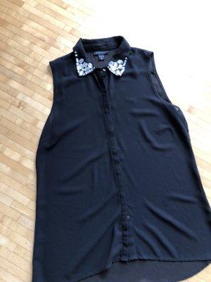 Amisu Blusa sin mangas negro