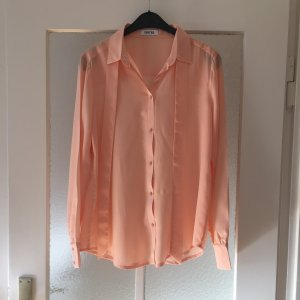 Bluse apricot EDITED 36 Seide